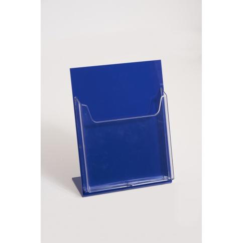 Blue Brochure Holder