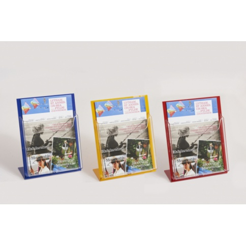 Coloured Brochure Holders