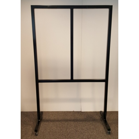 Mobile Floor Stand To Hold Up To 4 Job Card Racks