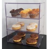 Medium Bakery Display Case - 3 Tiers