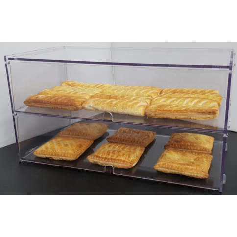 2 Tier Bakery Display Case