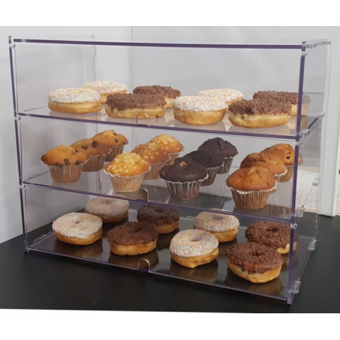 3 Tier Bakery Display Case