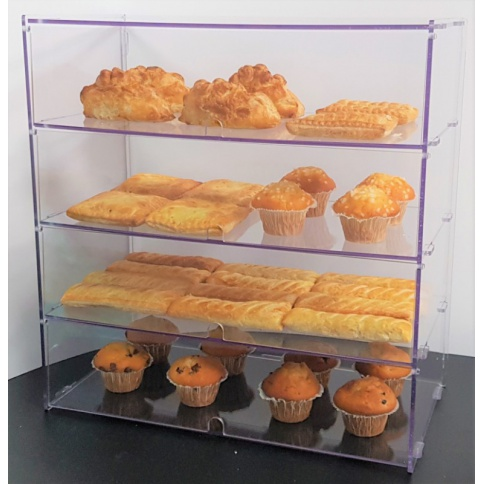 Four Tier Bakery Display Case