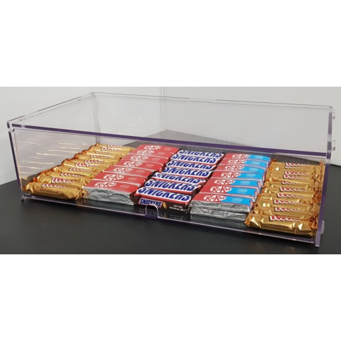 Single Tier Bakery Display Case