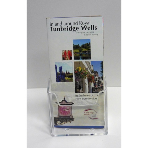 Pack of 5 1/3rd A4 (DL) Counter Top Brochure Holders