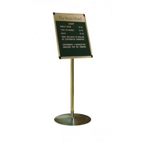 Gold Upright With Antique Bronze Base