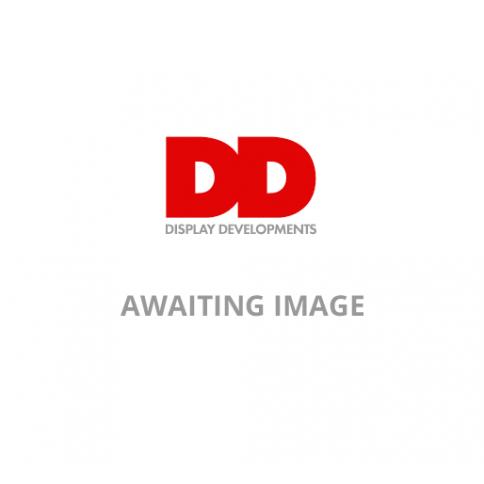 Desk divider close up