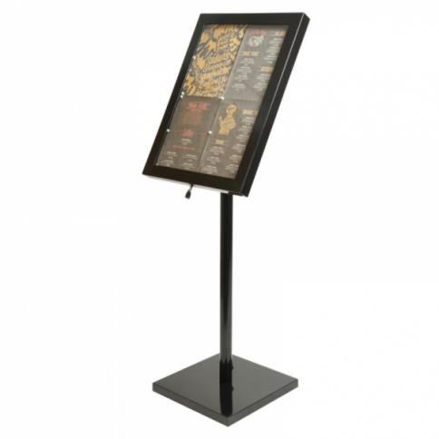 Freestanding Outdoor Illuminated A2 Menu Display Stand