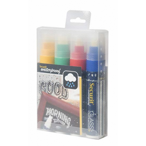 Assorted Colours - Pack 4 Jumbo Pens
