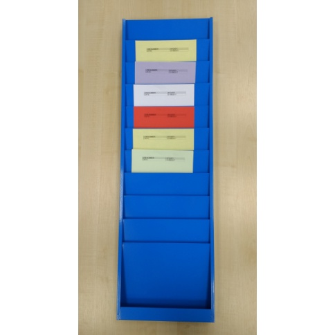 A4 Portrait Job Card Rack