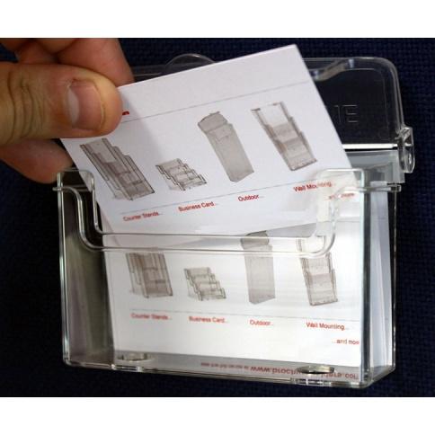 Outdoor Business Card Holder