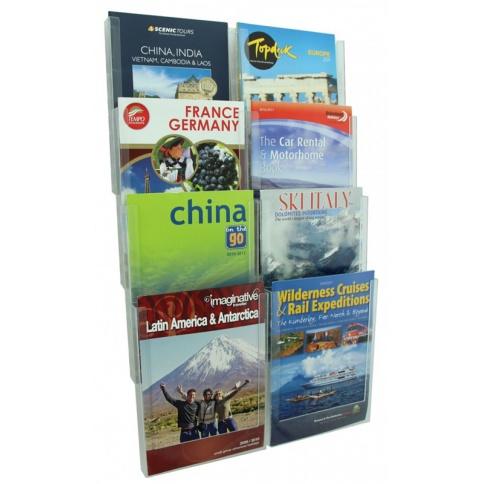 Clipper Brochure Holders Kit 1