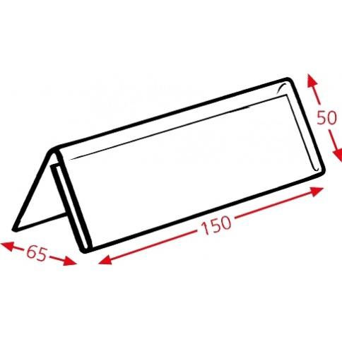 Nameplate Holder Dimensions