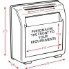 Suggestion Box dimensions