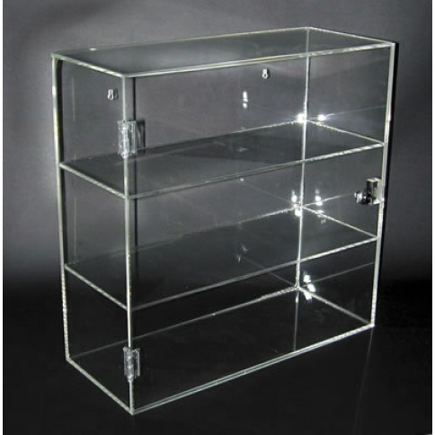 3 Compartment Display Case 500 x 200 x 500mm
