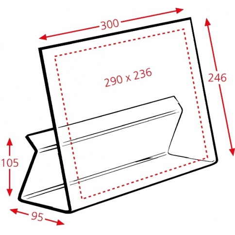 Small Cook Book Stand Dimensions