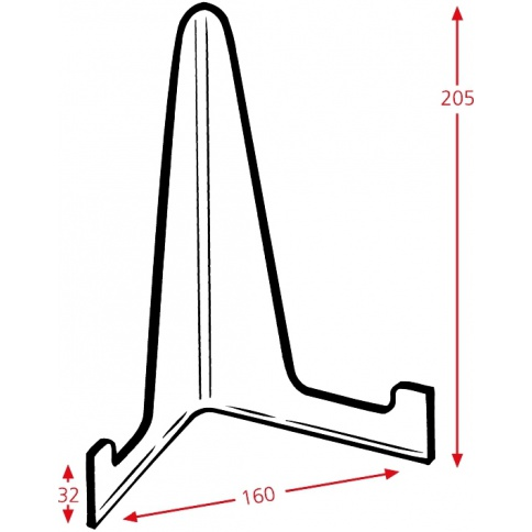 Plate Stand Dimensions