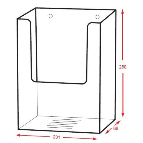 DD115/X Dimensions
