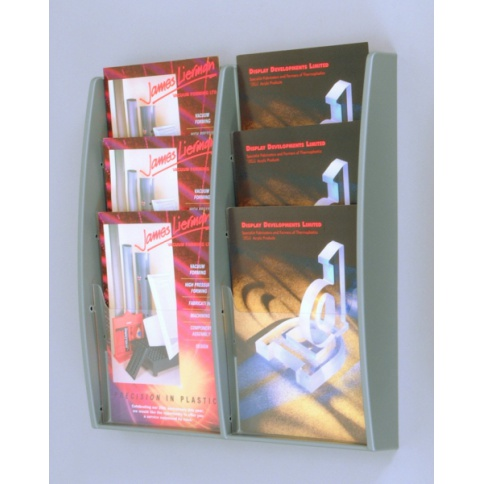 6 x A4 MultiMax Brochure Holder