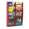 Red A5 Brochure Holder