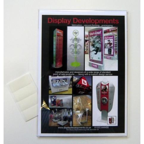 A4 Portrait Acrylic Card Holder