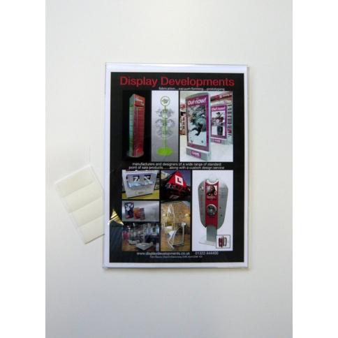 A1 Portrait Acrylic Card Holder