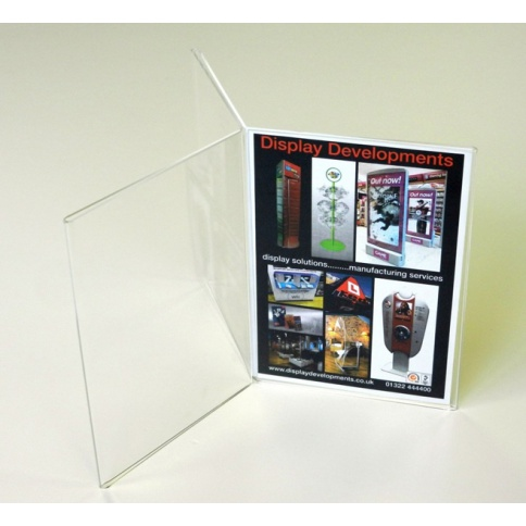 Triple A5 Portrait Menu Holder