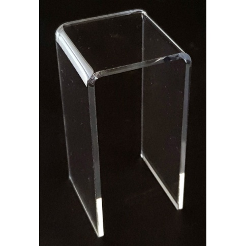 Acrylic Display Bridge 50mm x 50mm x 100mm