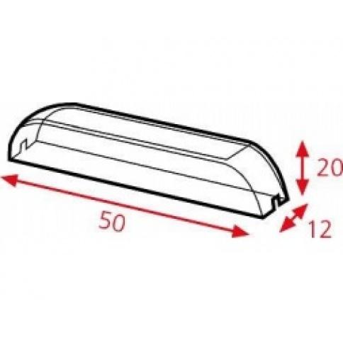 DD906 Clear Arcylic Handle