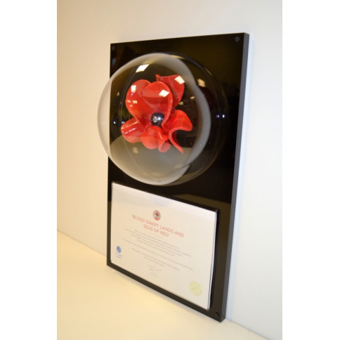 Tower Of London Domed Poppy Display Case