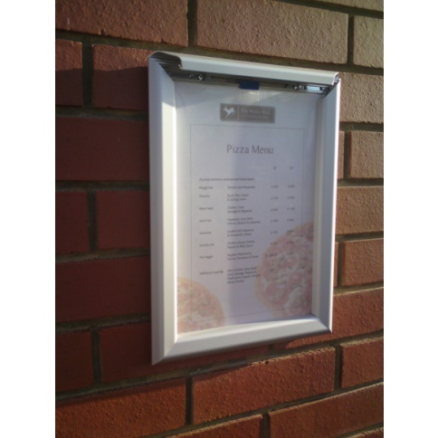 Tamper Resistant Security Snap Frames
