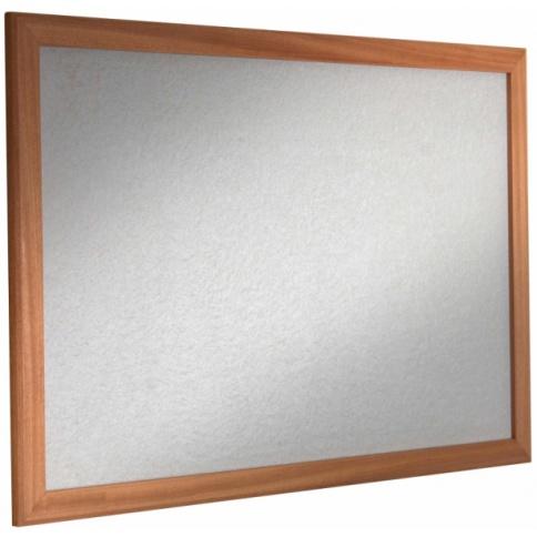 Wood framed pinboard