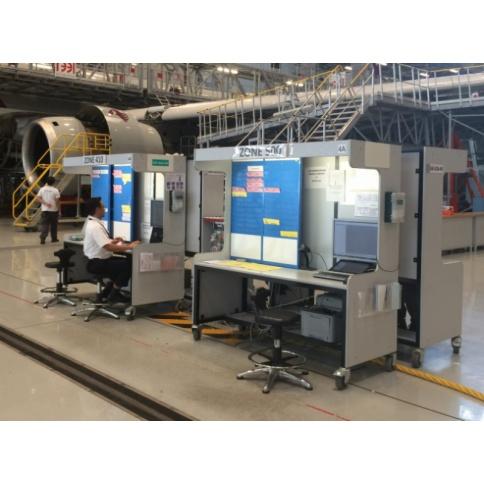 Large Mobile Hangar Workstations