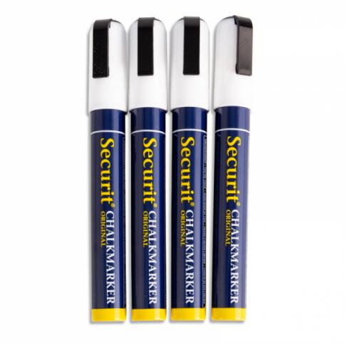 Exterior White Pens - Pack 4