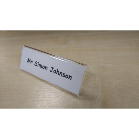 Table Top Name Plate Holder