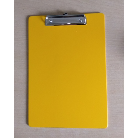 A4 Portrait Yellow Clipboard