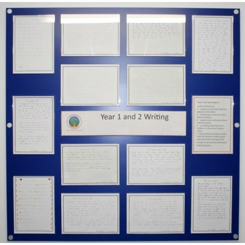 Blue Curriculum Hotboard