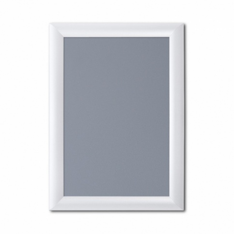 White snap frame