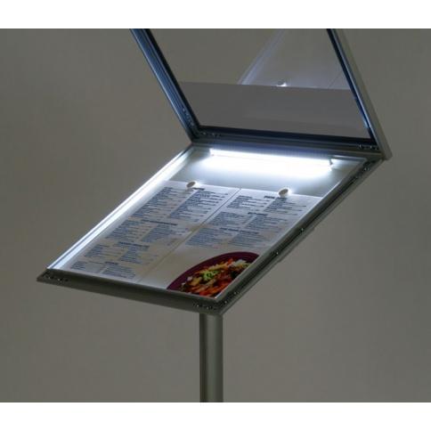 LED Menu Stand Lighting