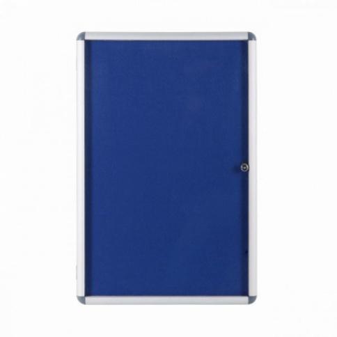 Blue felt pinboard