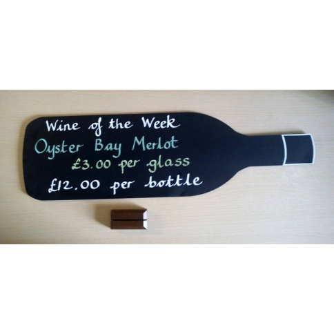 Wine Bottle Chalkboard