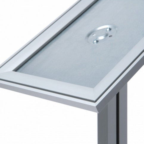 Designer Indoor Menu Stand