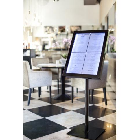 Illuminated menu stand A2