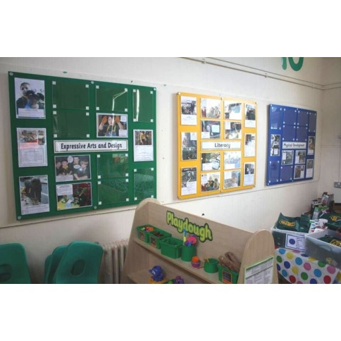 Different Coloured Noticeboards