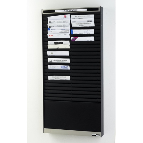 WPVA402-25 - Satin Black Document Control Panel