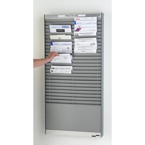 WPVA402-25S Silver/Grey Document Control Panel