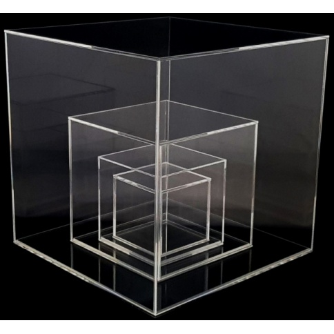 Acrylic Display Cubes