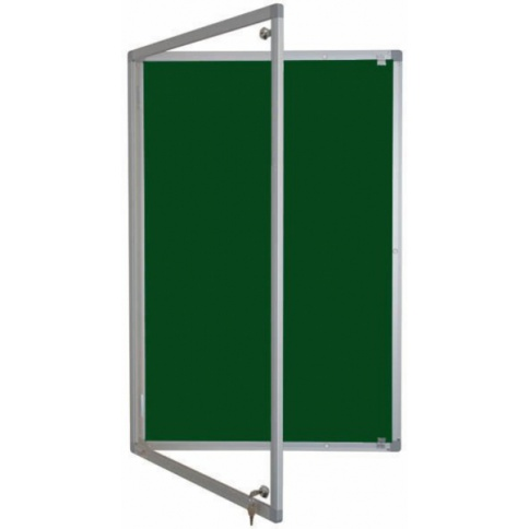 Fire rated noticeboard - Single door
