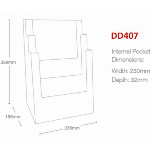 DD407 Line Drawing