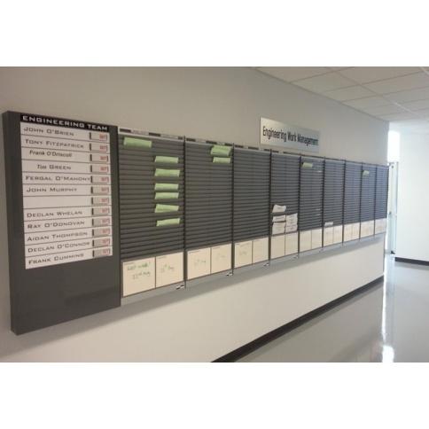 Installation of Job Card Racks